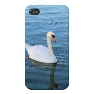 Cisne blanco iPhone 4 carcasa