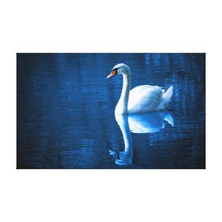 Cisne blanco impresion en lona