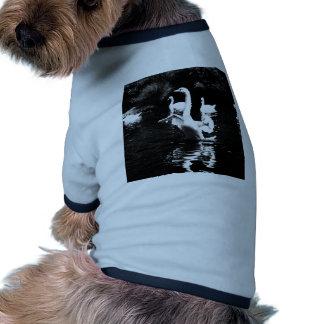 Cisne Camiseta Con Mangas Para Perro