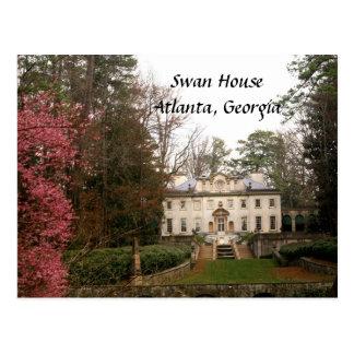 Cisne Casa-Atlanta Tarjetas Postales