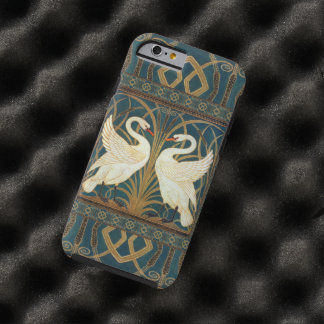 Cisne de la grúa de Gualterio, precipitación y Funda Resistente iPhone 6