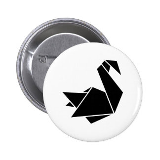 Cisne de Origami Pin