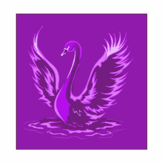Cisne de Swafari Fotoescultura Vertical