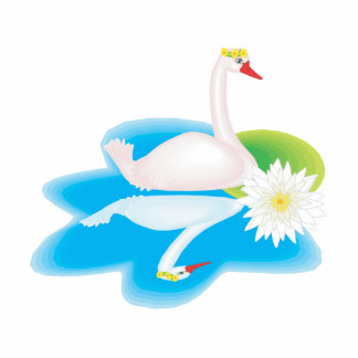 Cisne de Swavanna Fotoescultura Vertical