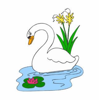 Cisne de Sweenie Fotoescultura Vertical