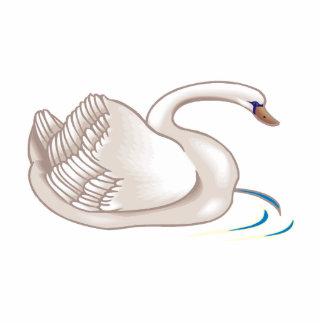 Cisne de Swinda Fotoescultura Vertical