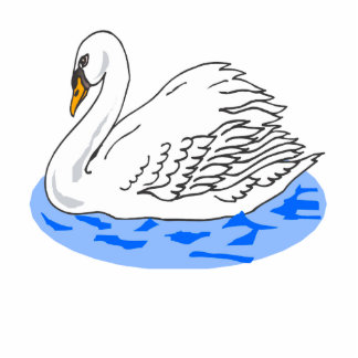 Cisne de Swinkie Fotoescultura Vertical