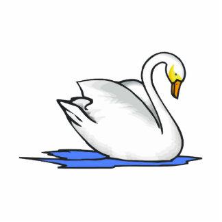 Cisne de Swinna Fotoescultura Vertical