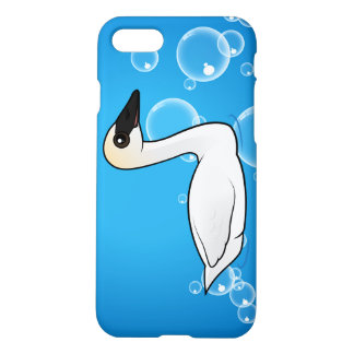 Cisne de trompetista de Birdorable Funda Para iPhone 7
