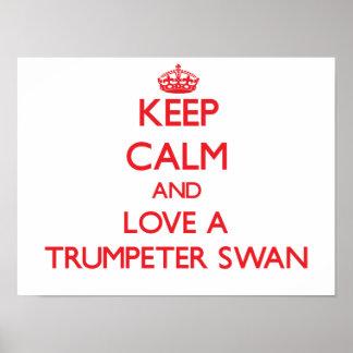 Cisne de trompetista posters