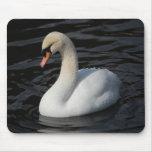 Cisne elegante 2 - mousepad alfombrilla de ratones