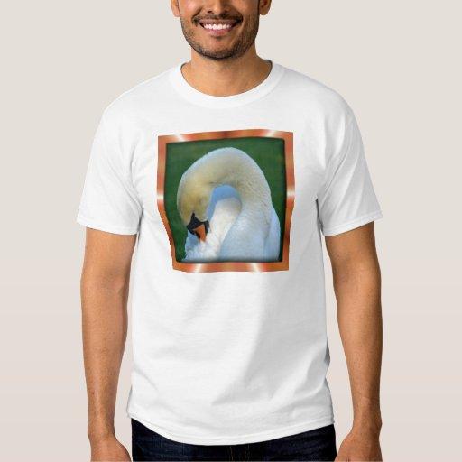 Cisne elegante remera
