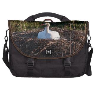 Cisne en jerarquía bolsas para portatil