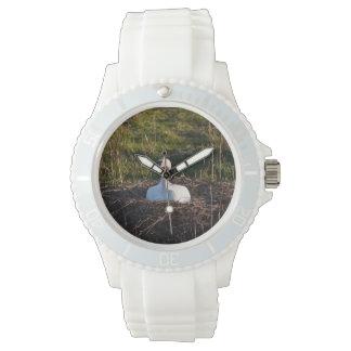 Cisne en jerarquía relojes de mano