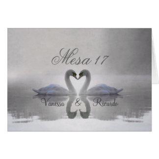 Cisne Enamorado ~ Tarjeta de Presentacion Card