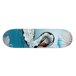 Cisne hermoso tabla de skate