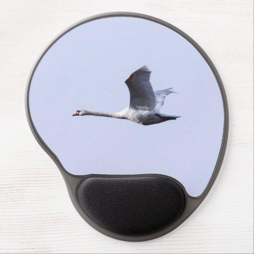 Cisne mudo alfombrilla con gel