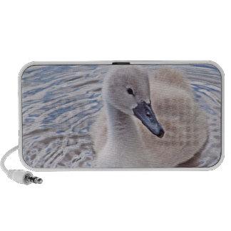 Cisne mudo del pollo del cisne iPhone altavoces