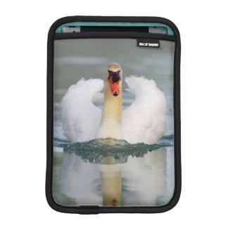 Cisne mudo en la charca funda de iPad mini