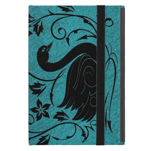 Cisne negro iPad mini cárcasa