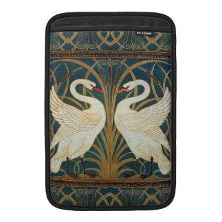 Cisne, precipitación e iris de la grúa de funda macbook air