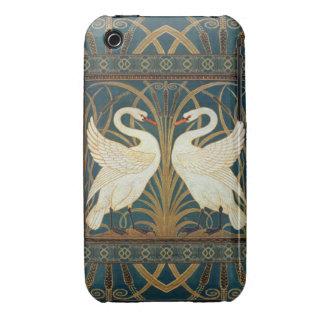 Cisne, precipitación e iris de la grúa de iPhone 3 cobreturas
