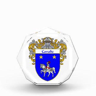 Cisneros Coat of Arms Family Crest Acrylic Award