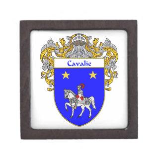 Cisneros Coat of Arms/Family Crest Jewelry Box