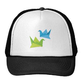 Cisnes de papel gorra