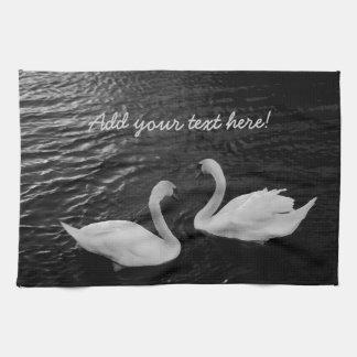 Cisnes gemelos toallas