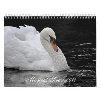 Cisnes mágicos 2011 calendario