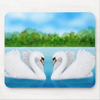 Cisnes Mousepad del amor
