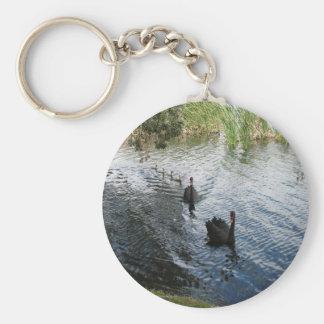 Cisnes negros, Perth Llavero Redondo Tipo Pin