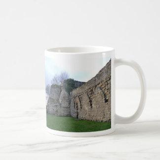 Cistercian Abbey Ruins in Culross Classic White Coffee Mug