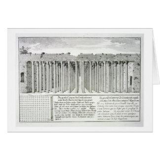 Cistern beneath the Hippodrome, Constantinople, Tu Card