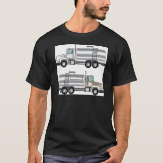 Cistern Truck Liquid Cargo T-Shirt