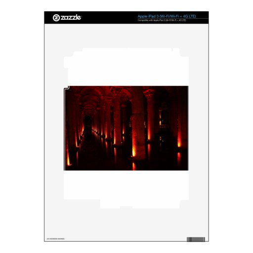 Cisternas de Estambul iPad 3 Skin