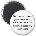 cita 10a de Dalai Lama Iman Para Frigorífico