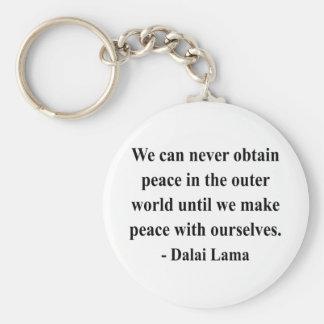 cita 10a de Dalai Lama Llaveros
