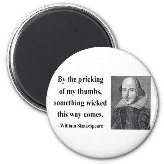 Cita 10b de Shakespeare Imán Redondo 5 Cm