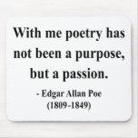 Cita 11a de Edgar Allen Poe Alfombrillas De Ratones
