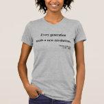Cita 11a de Thomas Jefferson Camisetas
