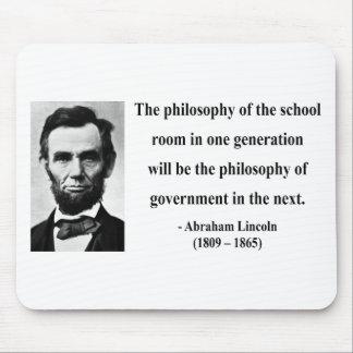 Cita 11b de Abraham Lincoln Alfombrillas De Ratones