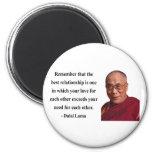 cita 11b de Dalai Lama Imán De Nevera