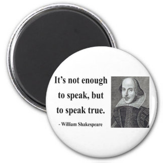 Cita 11b de Shakespeare Imán Redondo 5 Cm