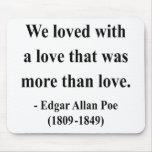 Cita 12a de Edgar Allen Poe Tapete De Raton