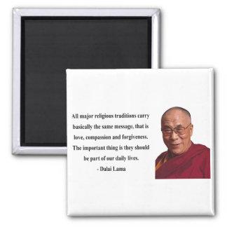 cita 12b de Dalai Lama Iman De Frigorífico