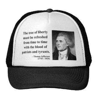 Cita 12b de Thomas Jefferson Gorras