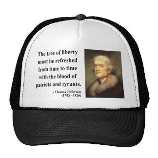 Cita 12c de Thomas Jefferson Gorro De Camionero