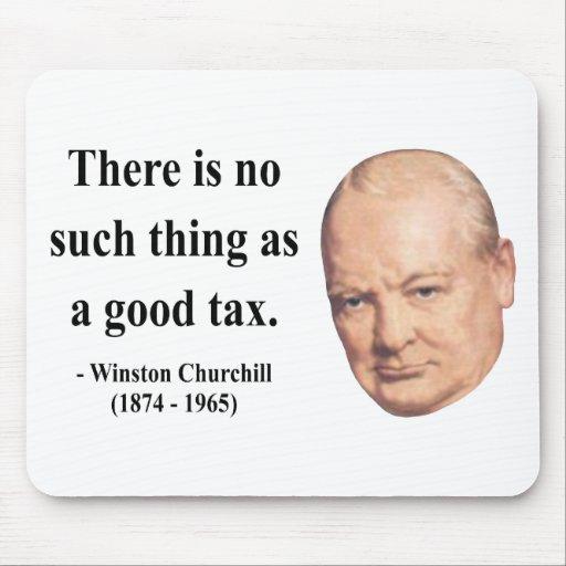 Cita 14b de Winston Churchill Alfombrillas De Raton